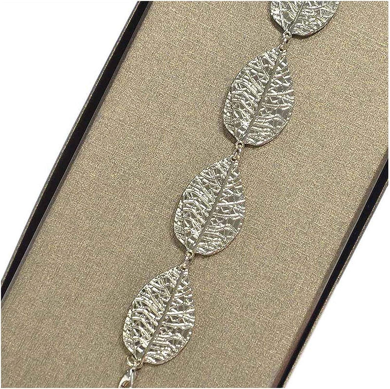 Thin Leaf Waist Belly Chain...