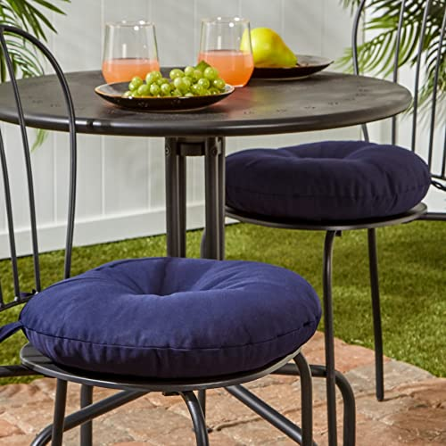 Cheap Greendale Home Fashions 15 in. Round Outdoor Bistro Chair Cushion set of 2 outdoor chair cushion for sale
