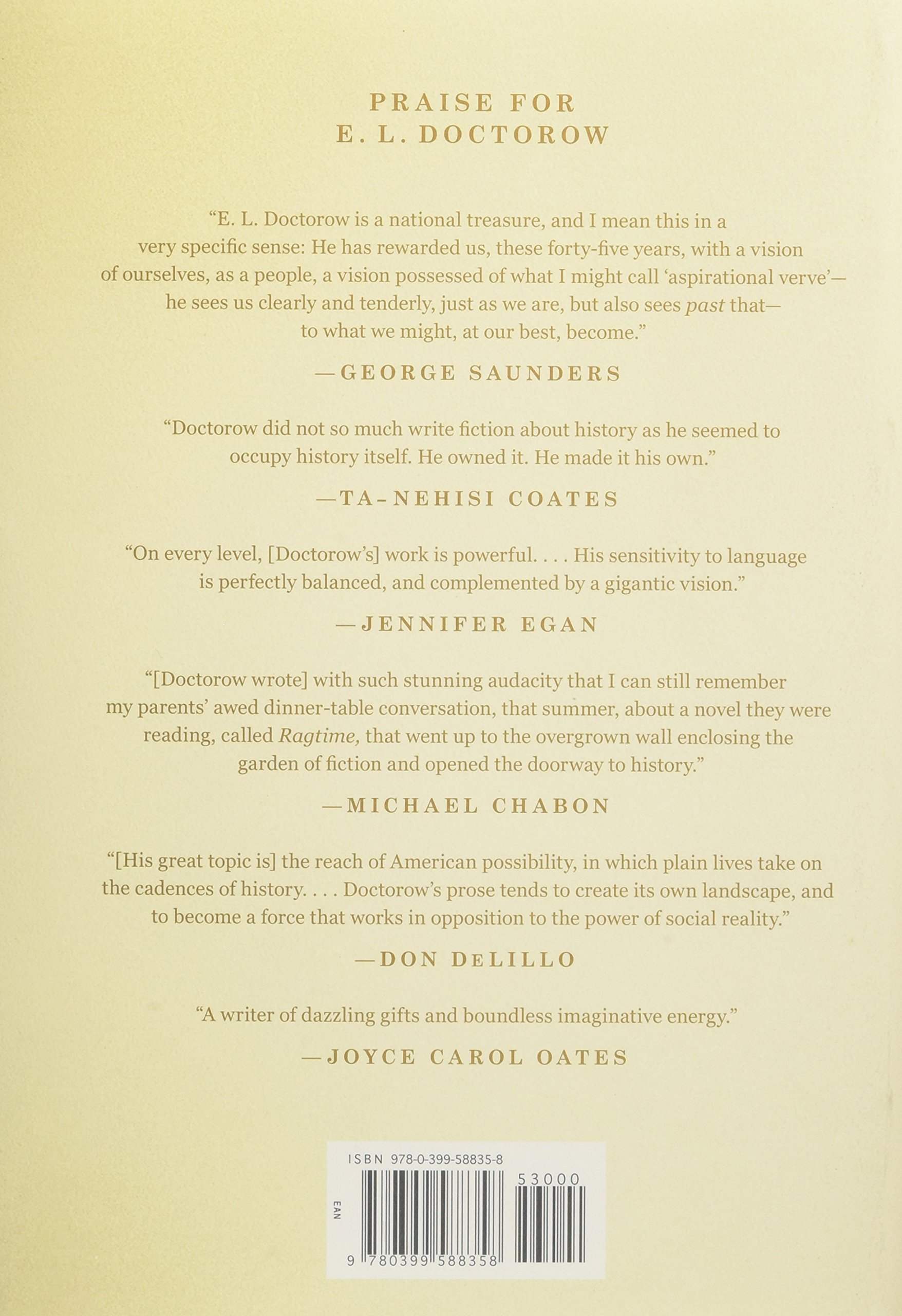 Doctorow: Collected Stories: El Doctorow: 9780399588358: Amazon: Books