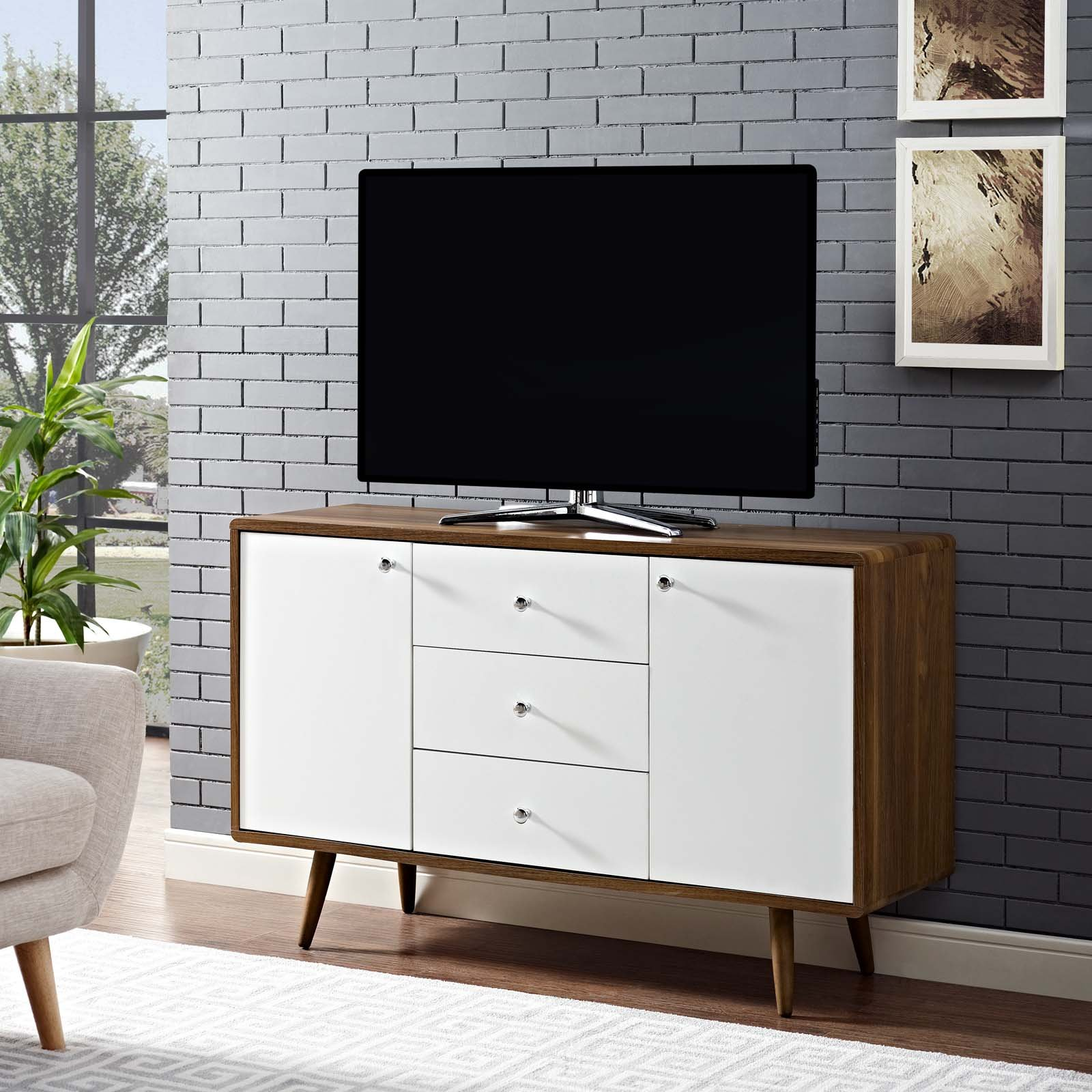 Modern Wood Credenza: Amazon.com on modern desk, modern entertainment center, modern lamp, modern secretary, modern daybed, modern wall unit, modern chaise lounge, modern etagere, modern commode, modern drawers, modern recliner, modern sideboard, modern tv,