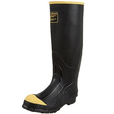 "LaCrosse Men's 16"" Premium Knee Work Boot, Black, 14 M US | Industrial & Construction Boots"
