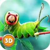 Caterpillar Insect Fighting Simulator: Micro World Insect Wars | Wild Life Animal Dash Survival Insect Simulator