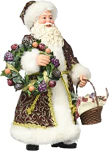 """Department 56 Possible Dreams Santa Claus """"Day of Mirth"""" Clothtique Christmas Figurine"""