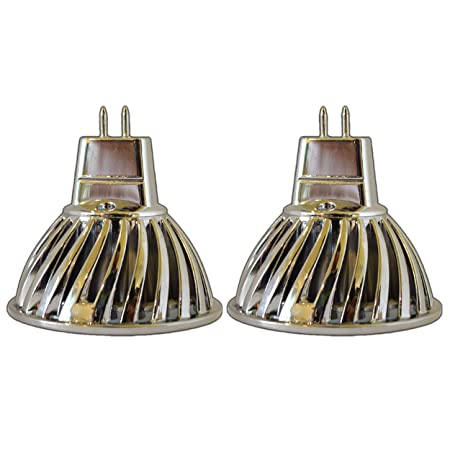 2 x MR16/GU5.3 LED Bombilla 5 W), 12 V AC/DC regulable de ...