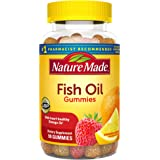 Nature Made Fish Oil Gummies, 90 Count with 57 mg Omega-3s EPA and DHA† (Packaging May Vary)