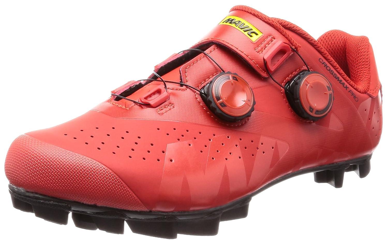 Mavic Crossmax Pro Shoe - Men's B078S4KJL6 9.5 D(M) US|Fiery Red/Black