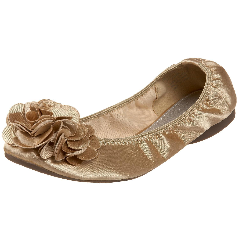 Wanted Shoes Women's Punk Ballet Flat B00346VX6M 6 B(M) US|Gold