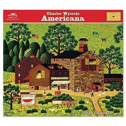 First American Home Warranty Brochure 2020.2020 Charles Wysocki Wall Calendar Cwcw044920