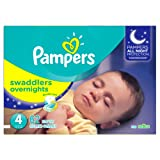 Amazon Price History for:Pampers Swaddlers Overnights Diapers Size 4, 62 Count