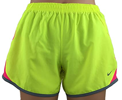 best sneakers 67a61 973e9 Nike Youth Girls Dry Fit 5K Tempo Running Short with Build-in Briefs, Yellow