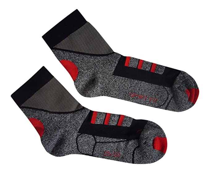 3 pares Calcetines de deporte calcetines Running Socks corta vástago 35/38