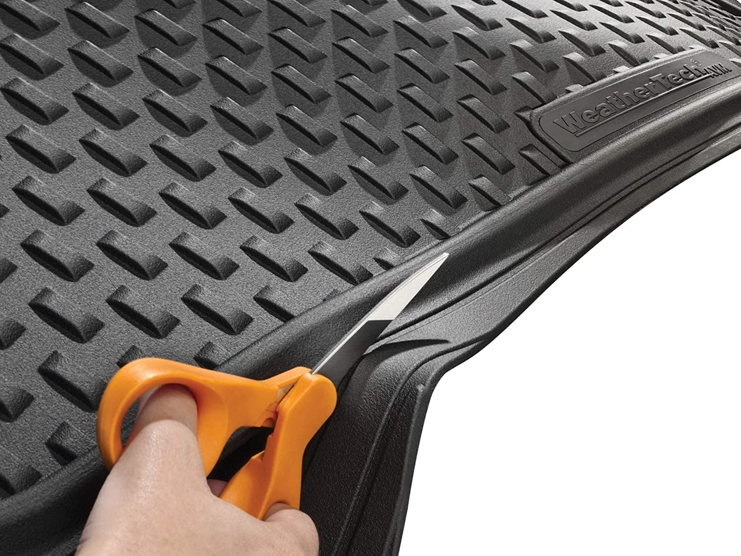 WeatherTech Trim-to-Fit All Vehicle Cargo Mat Black