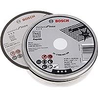 Bosch 2608603254 Professional slijpschijf rechte standaard voor Inox - Rapido 115 mm, wit