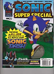 Sonic Super Special Comic Issue 10 Sonic Dash.