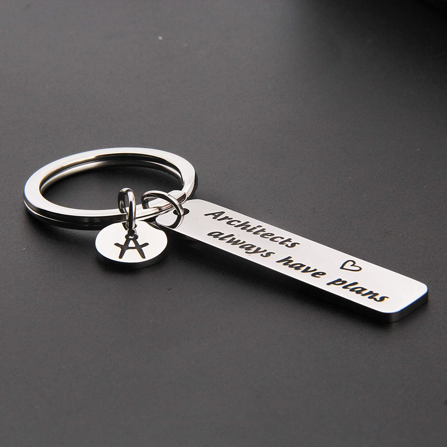 MAOFAED Architect Gifts Architecture Gifts Architecture Student Gift Architect Always Have Plans Archi Keychain