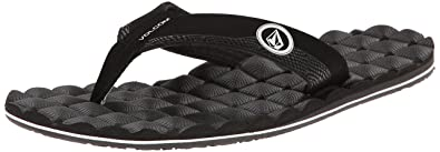 0ca719ac3a567a Volcom Men s Recliner Sandal Flip Flop  Amazon.ca  Shoes   Handbags