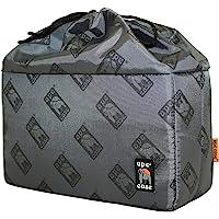 Ape Case Cubeze 39 Gray Protective Camera Insert Bag for DSLR and Mirrorless Camera, Gadget Bag for Canon, Sony, Nikon, Olympus, Fuji Cameras