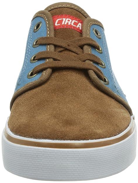 C1RCA Drifter, Sneakers Basses Mixte adulte - Marron (hide/provencial Blue), 40 EU