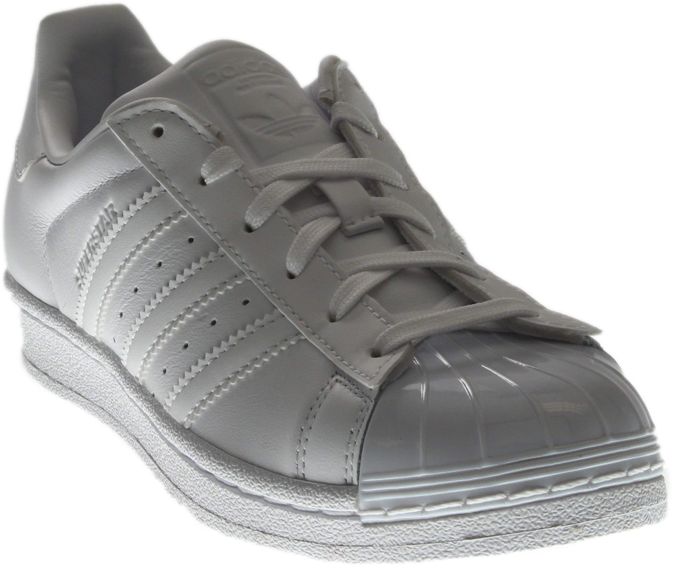 huge discount 0dfb3 e9446 Galleon - Adidas Originals Women's Superstar Glossy Toe Fashion Running  Shoe White/Black, ((8 M US)