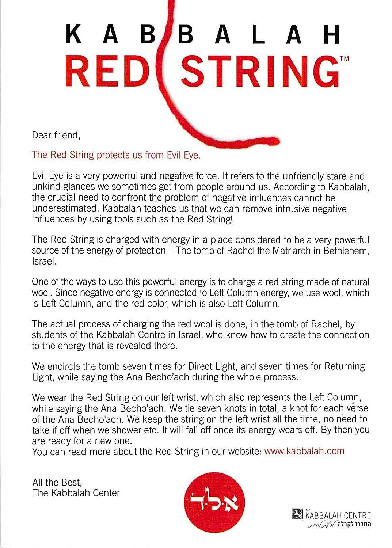 amazon com the original kabbalah center israel red string
