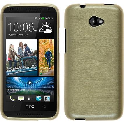 Amazon.com: Carcasa de silicona para HTC Desire 601, diseño ...