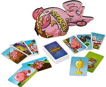 Kosmos 740405 Drecksau to go - Juego de Cartas (Incluye ampliación y Funda de Neopreno): Amazon.es: Juguetes y juegos