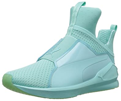PUMA Women's Fierce Bright Mesh Cross-Trainer Shoe, Aruba Blue, ...