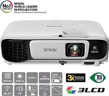 Epson EB-U42 Video - Proyector (3600 lúmenes ANSI, 3LCD, WUXGA ...