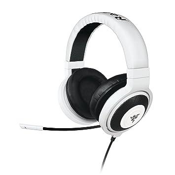 Razer Kraken Pro - Auriculares Gaming De Diadema Cerrados con micrófono, color blanco
