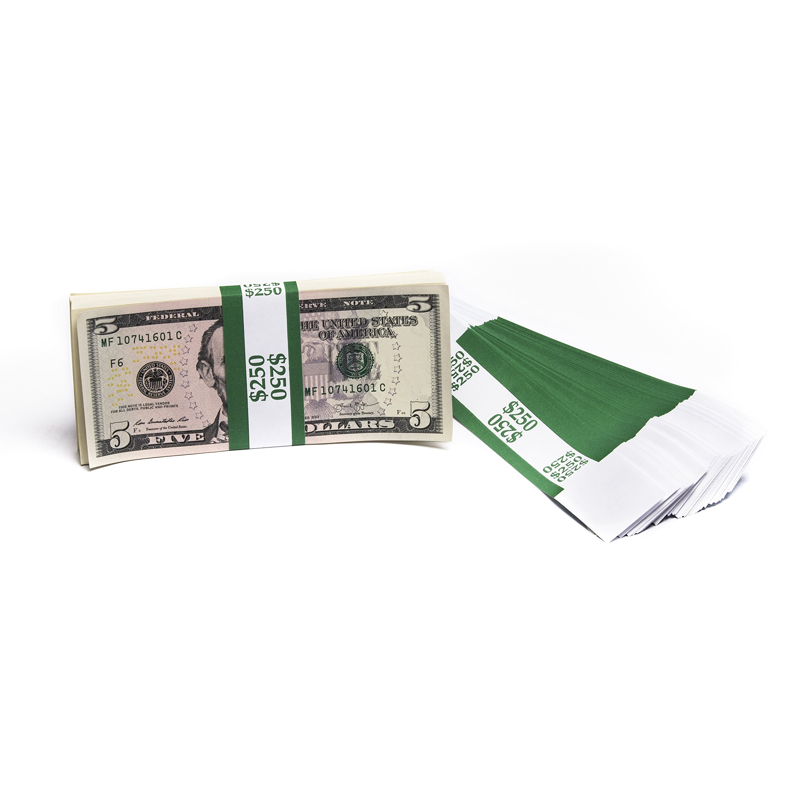 Barred ABA $250 Currency Band Bundles (1,000 Bands)