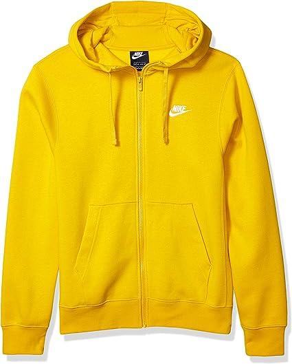 nike sportswear club full zip hoodie