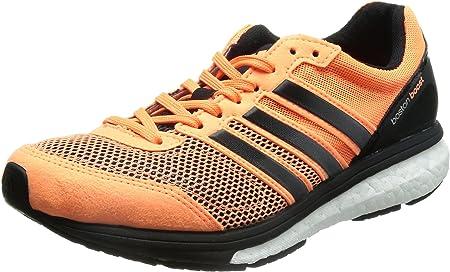Adidas Adizero Boston 5 W, naranja / negro / blanco, 5,5 nosotros