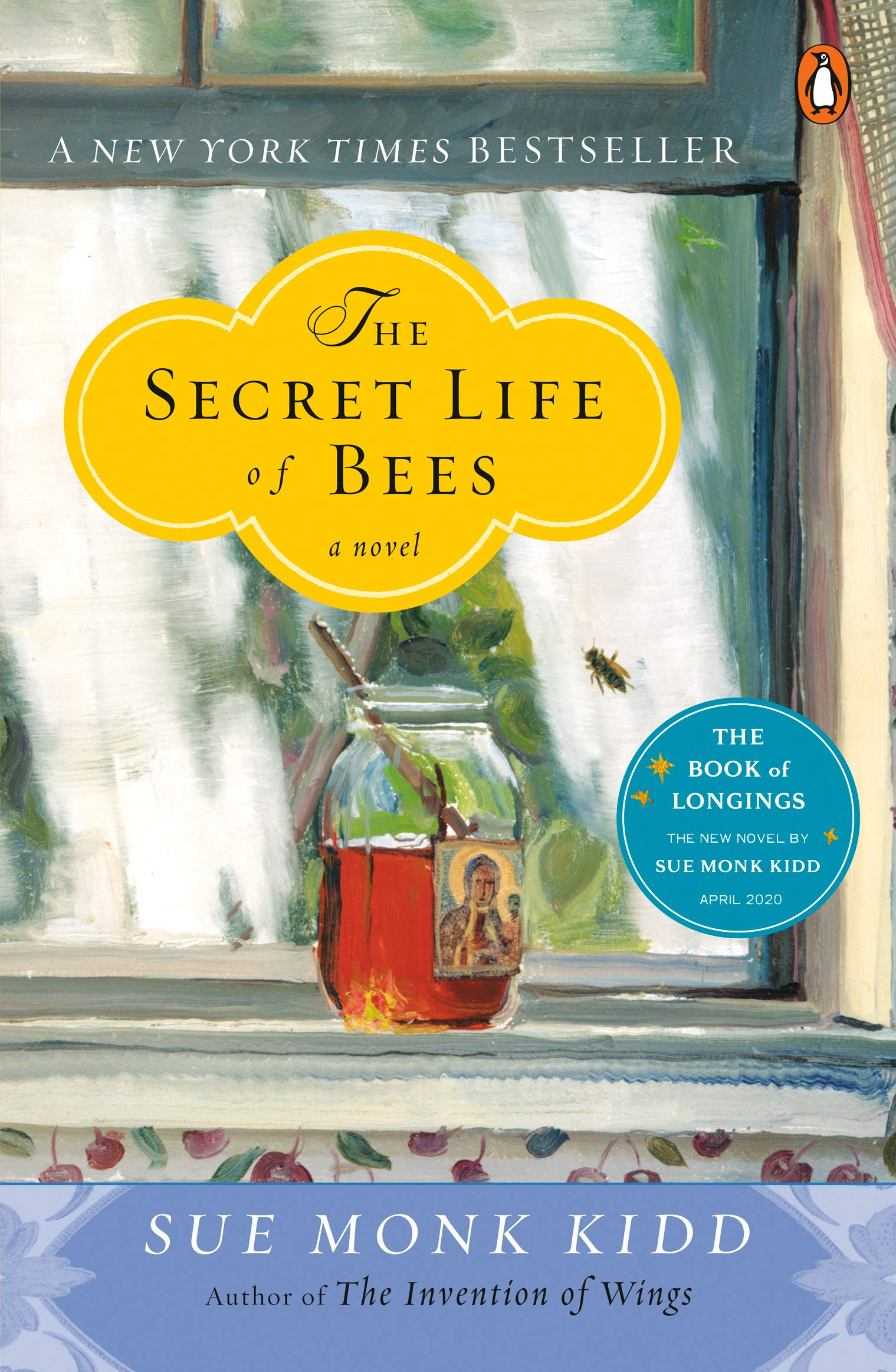The Secret Life of Bees by Sue Monk Kidd - book cover. #suemonkkidd #books #secretlifeofbees