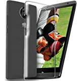 Ecellstreet Lightweight, Shock Absorbing Transparent Soft Back Case Cover For Micromax Canvas Mega 2 Q426