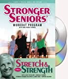 Stronger Seniors® Stretch and Strength DVDs- 2 disc Chair Exercise Program- Stretching, Aerobics, Strength Training, and Balance. Improve flexibility, muscle and bone strength, circulation, heart health, and stability. Developed by Anne Pringle Burnell