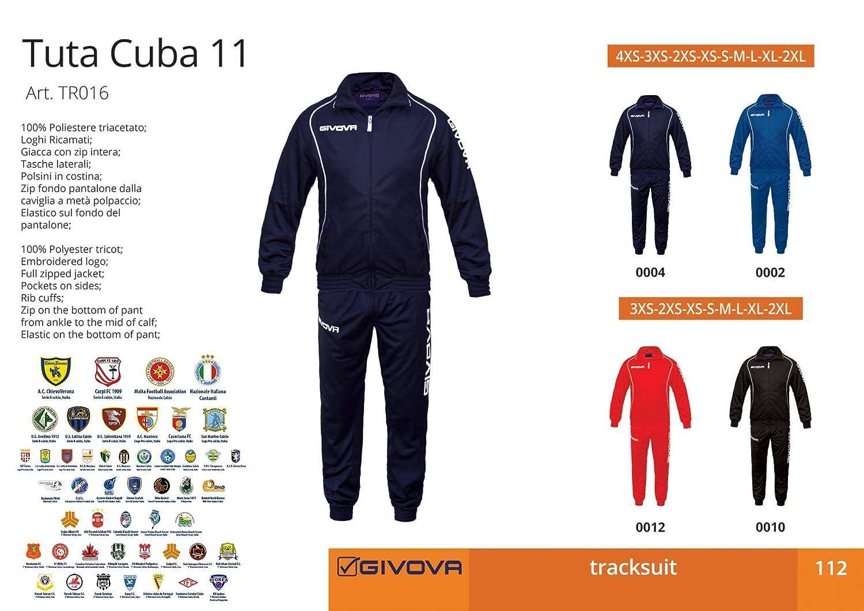 Givova Cuba 11 - chándal de Gimnasia: Amazon.es: Deportes y aire libre