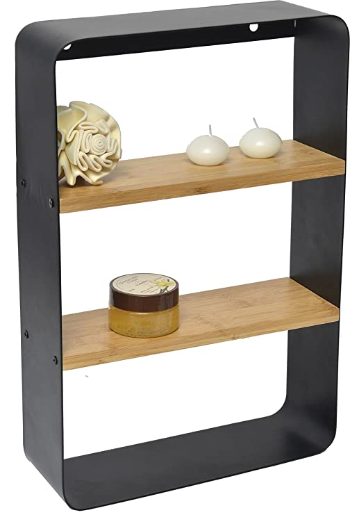 Bambus Duschablage Wand Stand Regal Badezimmer Ablage Duschregal 2