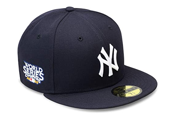 New Era New York New York Yankees Fitted Hat Cap 2009 World Series Champions MLB