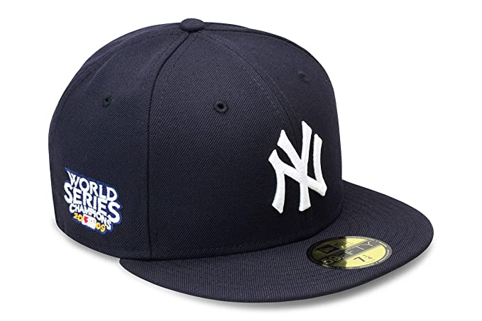 c077d40598d New Era 59fifty New York Yankees Fitted Hat Cap 2009 World Series Side  Patch (7