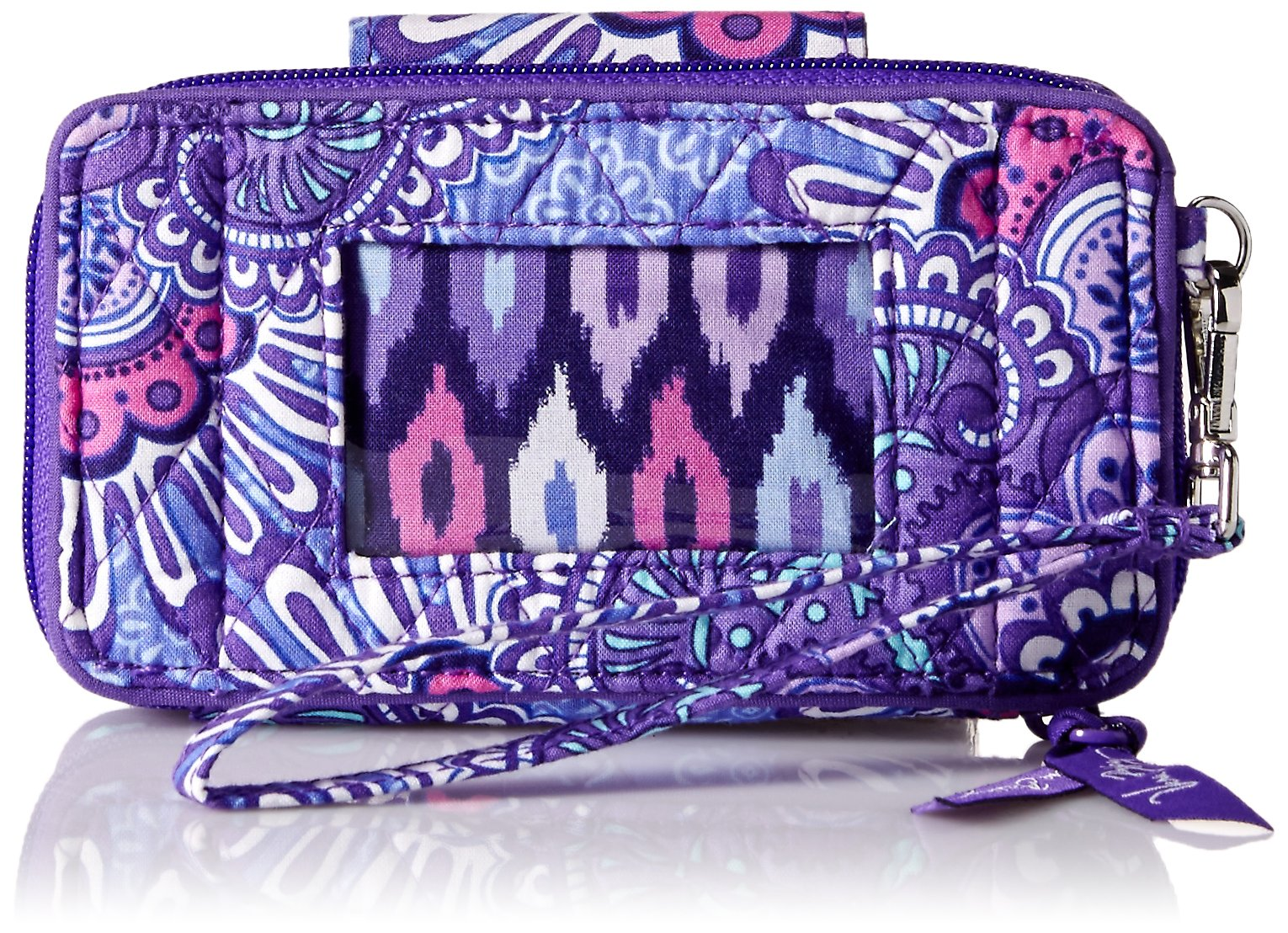 Vera Bradley Smartphone Wristlet for Iphone 6, Lilac Tapestry