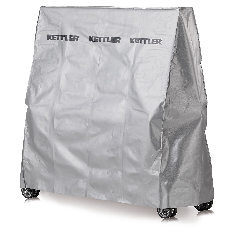 Kettler 07032-600 - Funda para mesa de tenis de mesa, color plateado