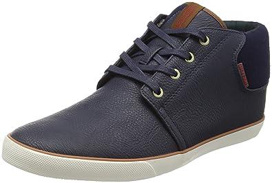 Mens Jfwmajor Textile Mix Anthracite Hi-Top Sneakers Jack & Jones yhVGv