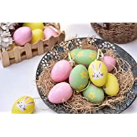 Victor's Workshop 18Pcs 2.36in/6cm Huevos de Pascua Decoracion