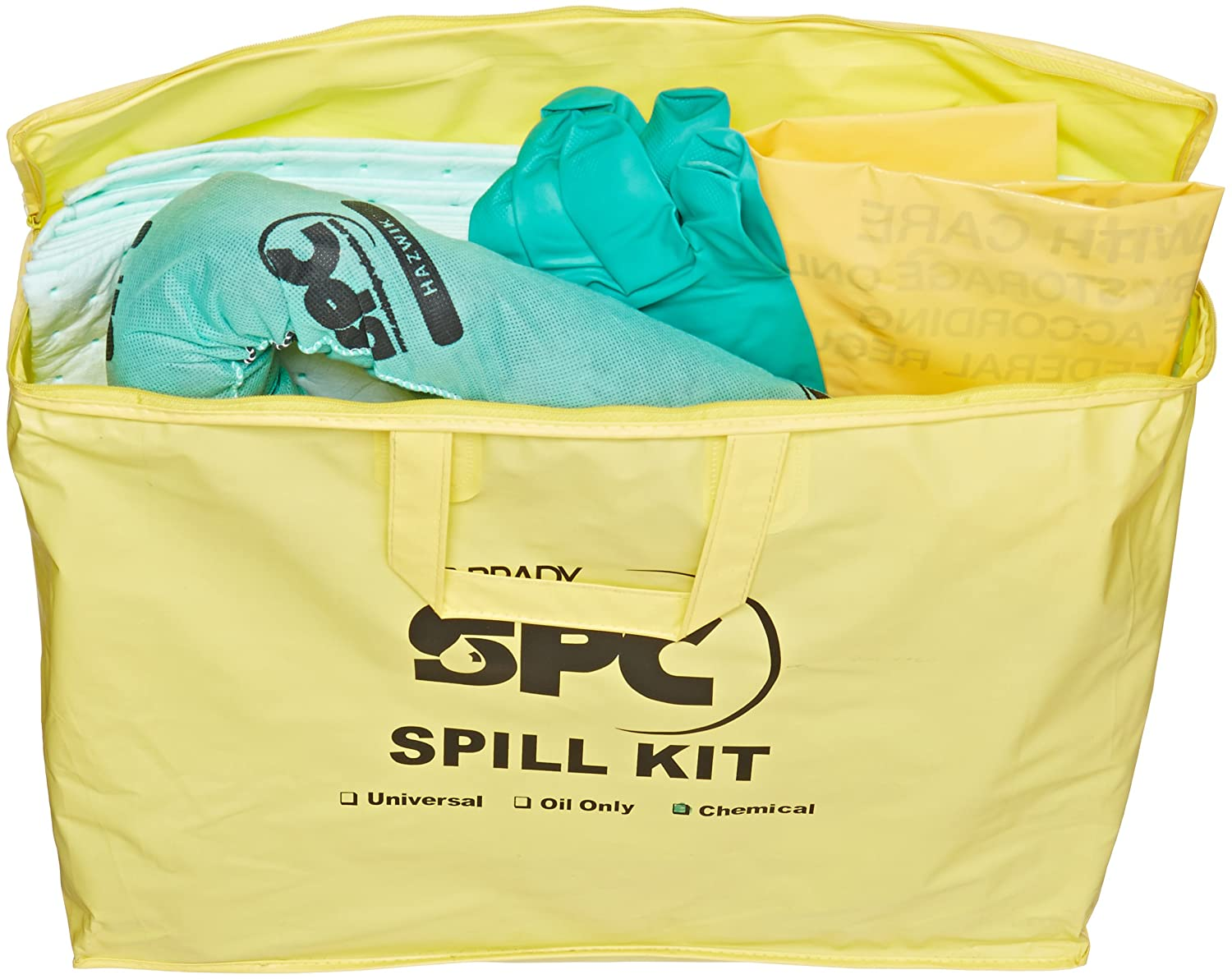SPC SKH-PP Hazwik Chemical Class Portable Economy Spill Kit: Science Lab Spill Containment Supplies: Industrial & Scientific
