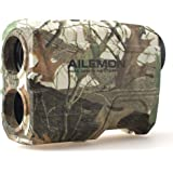AILEMON 6X Laser Range Finder Rechargeable for Hunting Bow Rangefinder Distance Measuring Outdoor Wild 1200Y with Slop…