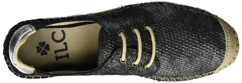 I love candies Damen Laces (Black) Espadrilles Schwarz (Black) Laces c40f57