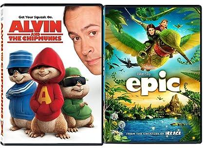 Amazoncom Alvin The Chipmunks Epic Cartoon From The Creators