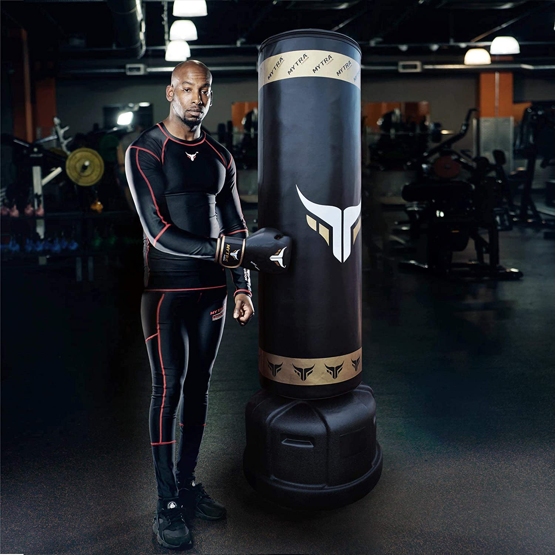 MMA Heavy Boxing Punching Bag Empty Muay Thai Kicking Training Fitness GYM Set