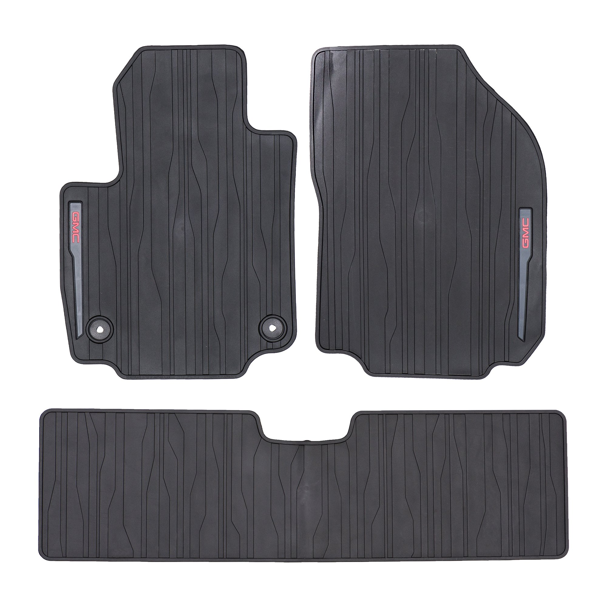 OEM NEW Front and Rear All Weather Rubber Floor Mats w/GMC Logo 2018 Terrain