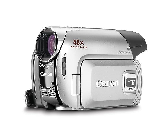amazon com canon zr950 1 07mp minidv camcorder with 37x optical rh amazon com Canon ZR800 Used Mini DV Camcorders